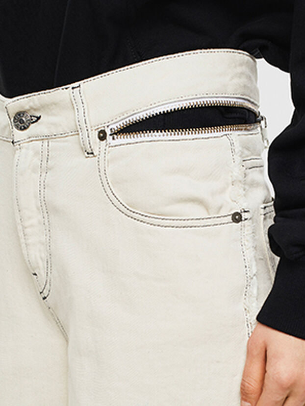 Widee 009BD, White - Jeans