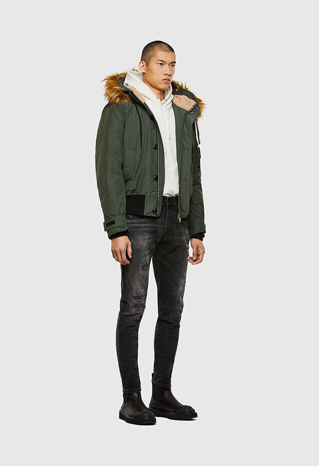 W-JAME, Olive Green - Winter Jackets