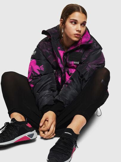 Diesel - S-KB ATHL LACE W, Black/Pink - Sneakers - Image 5