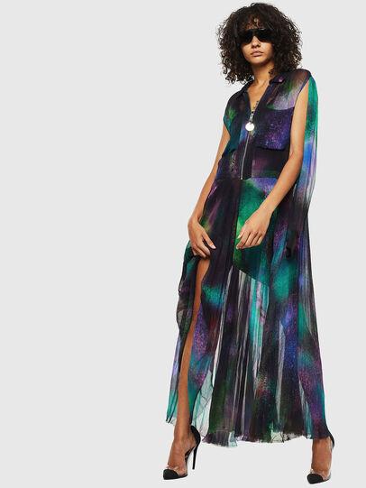 Diesel - D-RAH-A, Multicolor - Dresses - Image 6