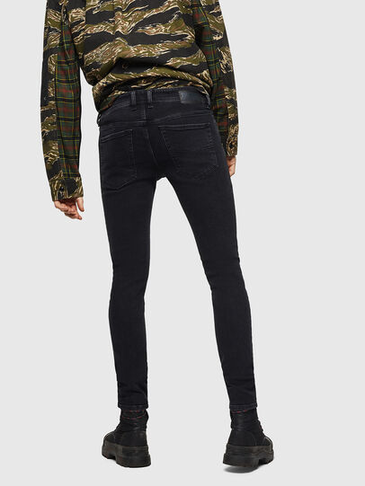 Diesel - Sleenker 0870G, Black/Dark grey - Jeans - Image 2