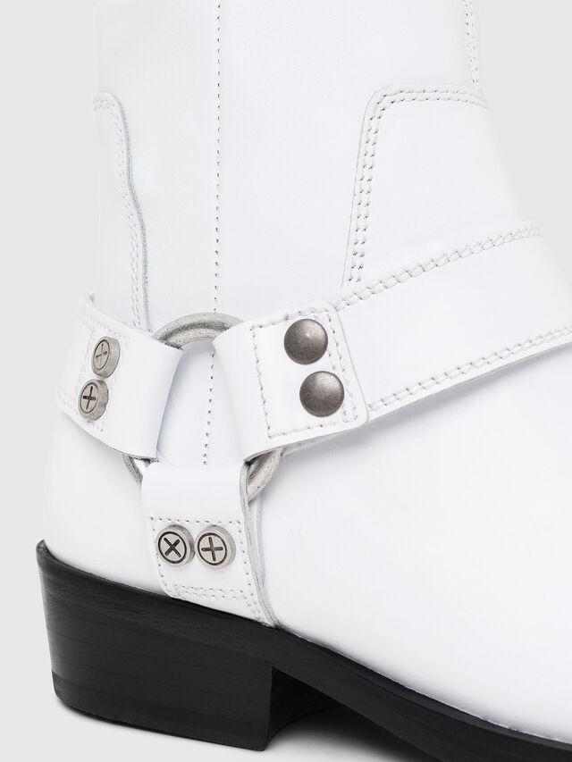 Diesel - D-BIOYS MC, White - Boots - Image 4