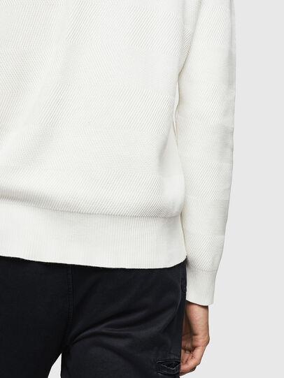 Diesel - K-STLE, White - Knitwear - Image 4
