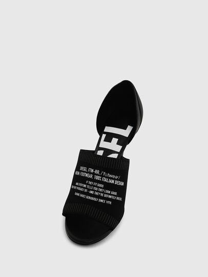 Diesel - SA-SLANTY OT, Black - Sandals - Image 4
