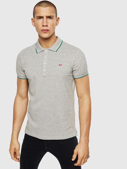 Diesel - T-RANDY-NEW, Light Grey - Polos - Image 1