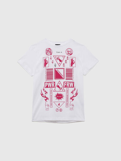 Diesel - TDARIAE, White - T-shirts and Tops - Image 1