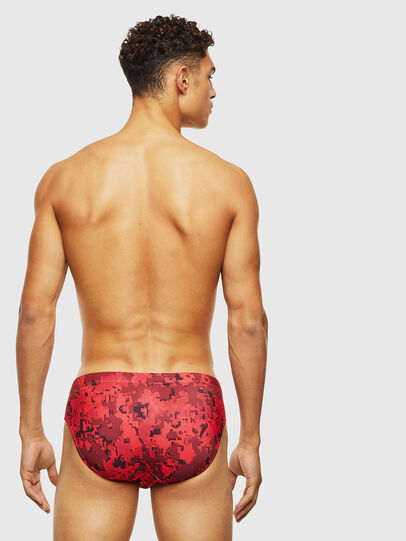 Diesel - BMBR-JACK, Red - Swim briefs - Image 2
