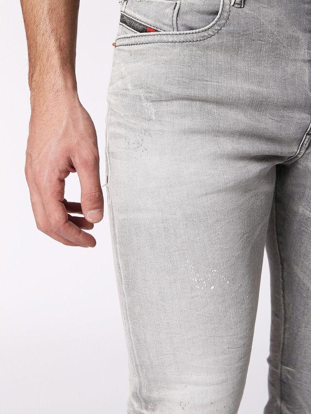 Diesel - BUSTER 0699J, Light Grey - Jeans - Image 7