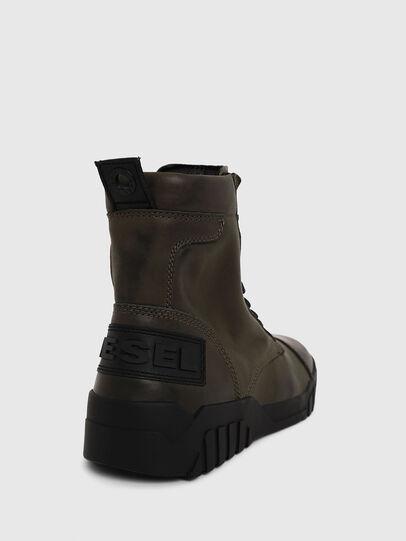 Diesel - H-RUA AM, Military Green - Sneakers - Image 4