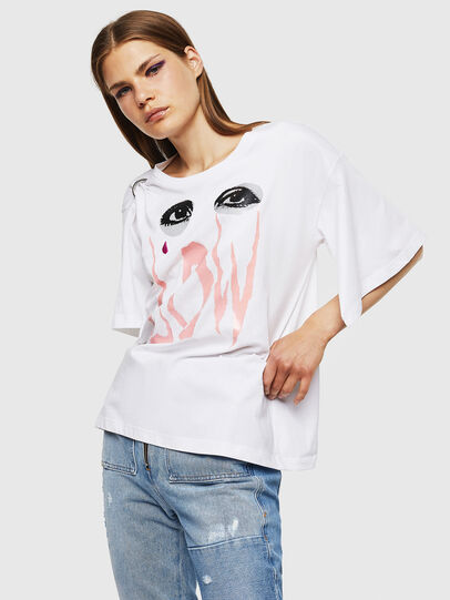 Diesel - T-DASHA, White - Tops - Image 1
