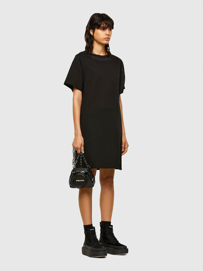 Diesel - D-OUBLE, Black - Dresses - Image 6