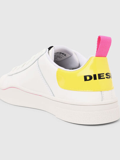 Diesel - S-CLEVER LOW LACE W, White/Yellow - Sneakers - Image 5