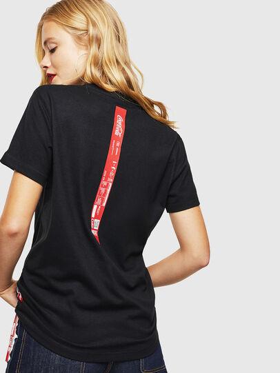 Diesel - CC-T-DIEGO-COLA, Black - T-Shirts - Image 4