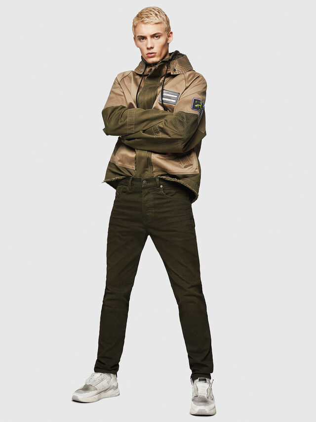Diesel - Mharky 0078D, Military Green - Jeans - Image 5