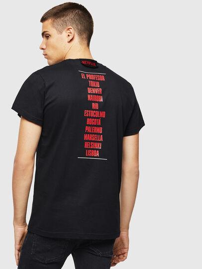 Diesel - LCP-T-DIEGO-CASA, Black - T-Shirts - Image 3