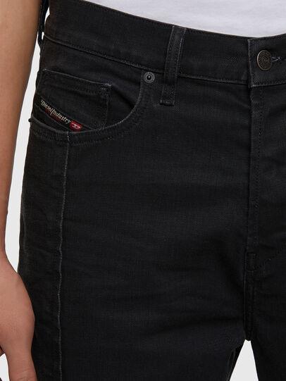 Diesel - D-Vider 009LA, Black/Dark grey - Jeans - Image 3