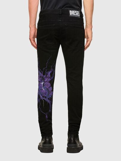 Diesel - D-Amny 009KR, Black/Dark grey - Jeans - Image 2