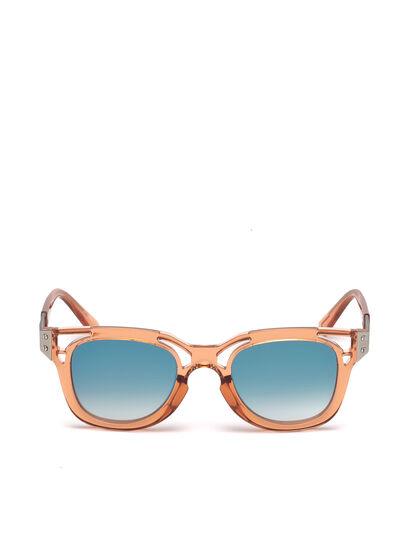 Diesel - DL0232, Peach - Sunglasses - Image 1