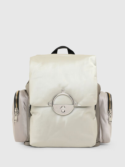 Diesel - ANERES R, White/Grey - Backpacks - Image 1