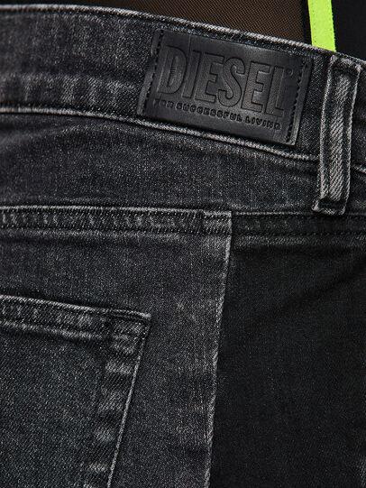 Diesel - D-Ebbey 009IM, Black/Dark grey - Jeans - Image 4