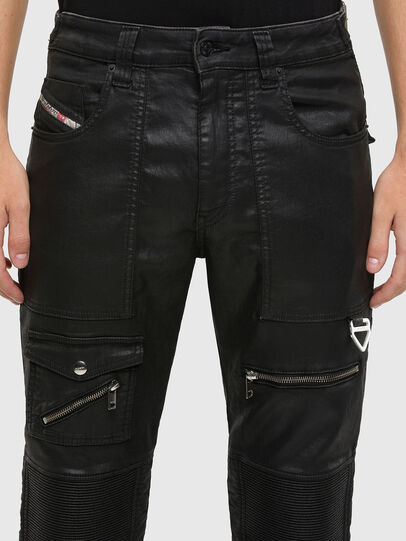Diesel - D-Derrot JoggJeans 069QY, Black/Dark grey - Jeans - Image 3