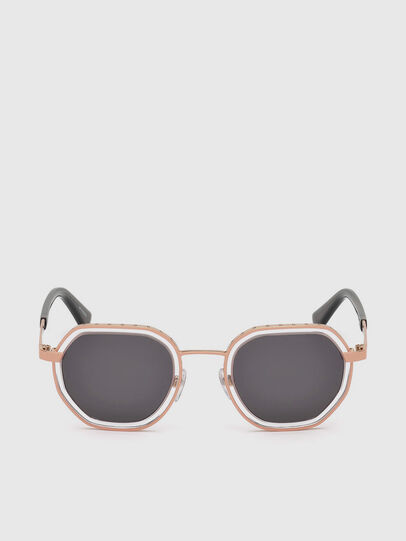 Diesel - DL0267, Pink - Sunglasses - Image 1