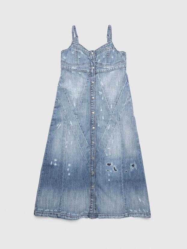 DEARIN, Light Blue - Dresses