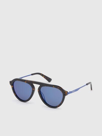 Diesel - DL0277, Dark Brown - Sunglasses - Image 2