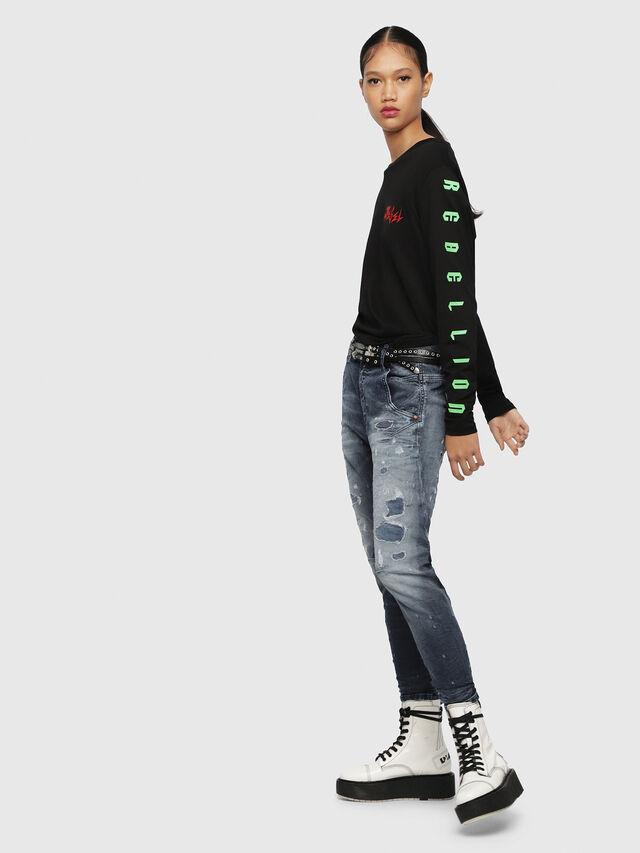 Diesel Fayza JoggJeans 069CC, Medium blue - Jeans - Image 4