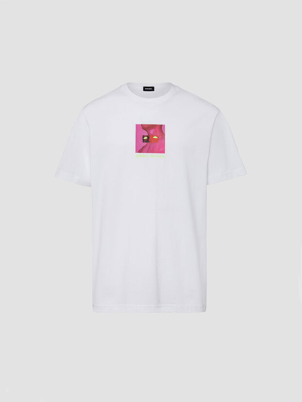 T-JUST-X64, White - T-Shirts