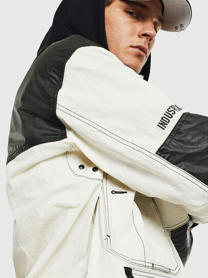 Diesel - J-KENDY, White/Black - Jackets - Image 6