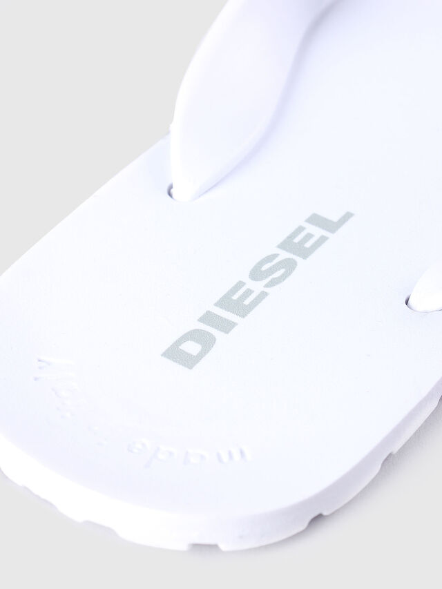 Diesel - SPLISH, White - Slippers - Image 3