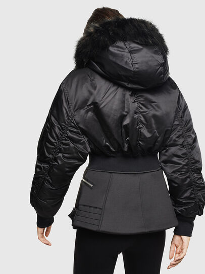 Diesel - W-ISOKE-A, Black - Winter Jackets - Image 2