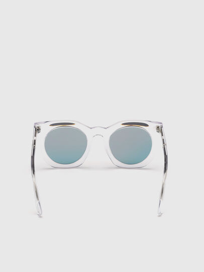Diesel - DL0283, White - Sunglasses - Image 4