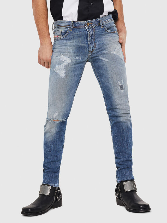 Diesel - Thommer 0090M, Medium blue - Jeans - Image 1