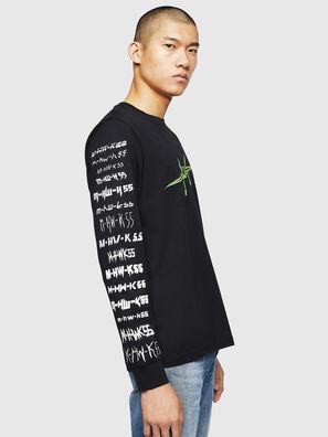 T-JUST-LS-B2, Black - T-Shirts