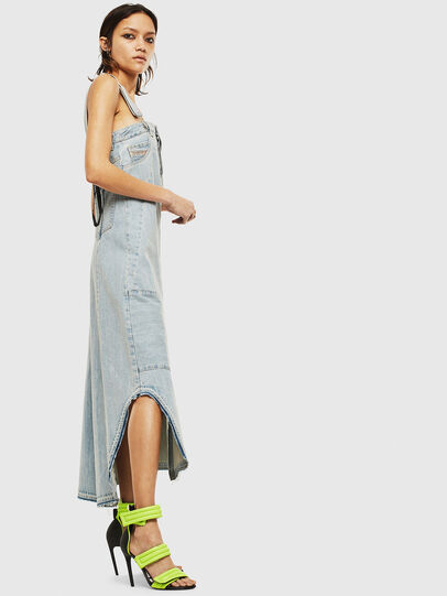 Diesel - DE-FYONA, Light Blue - Dresses - Image 7