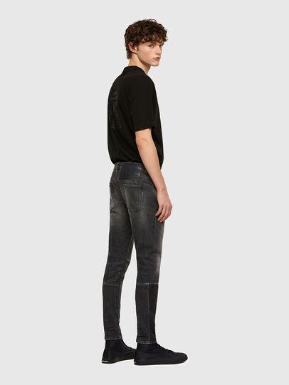 Diesel - D-Strukt 009MZ, Black/Dark grey - Jeans - Image 5