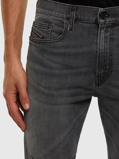 Diesel - D-Amny 009GL, Black/Dark grey - Jeans - Image 3