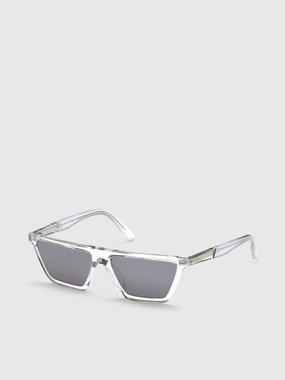 Diesel - DL0304, White - Sunglasses - Image 2