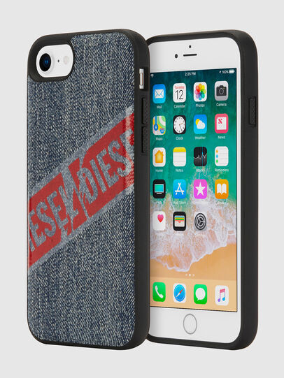 Diesel - VINTAGE DENIM IPHONE 8/7/6S/6 CASE, Blue Jeans - Cases - Image 1
