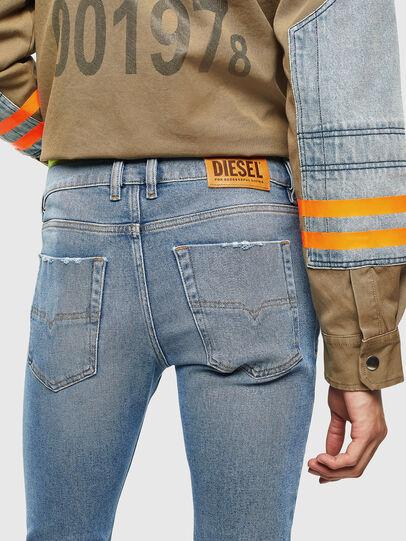 Diesel - Tepphar 0096Y, Light Blue - Jeans - Image 4