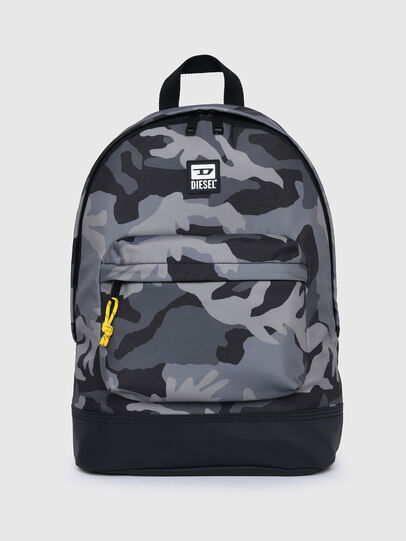 Diesel - VIOLANO, Grey/Black - Backpacks - Image 1