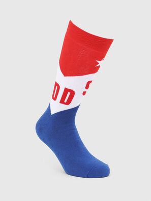 SKM-RAY, Blue/Red - Socks