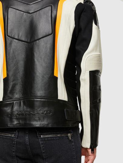 Diesel - ASTARS-LDUE-B, Black - Leather jackets - Image 5