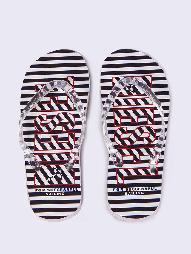 FF 12 STRIPE CH, White/Black