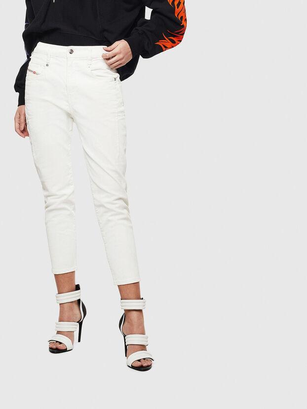 Fayza 009AY, White - Jeans