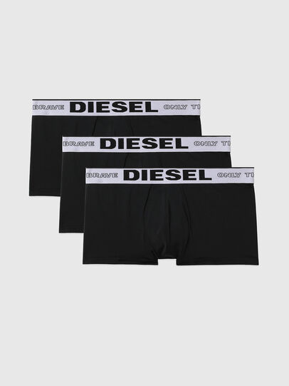 Diesel - 55-D-THREEPACK, Black - Trunks - Image 1