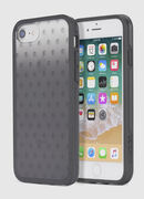 MOHICAN HEAD DOTS BLACK IPHONE 8/7/6s/6 CASE, Black - Cases