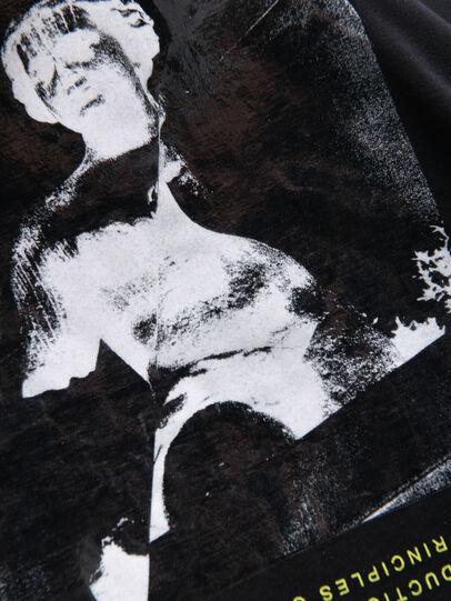 Diesel - TDESY, Black - T-shirts and Tops - Image 3